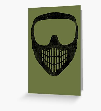 Goggles  MUST be Worn at All Times! Greeting Card