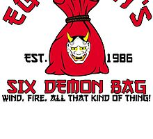 Egg Shen's six demon bag by edcarj82