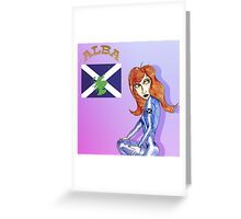 Maiden Scotland Greeting Card