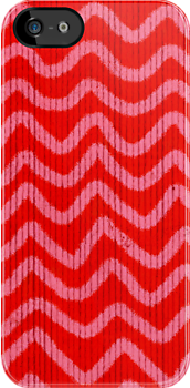 Handmade Chevron iPhone Case by Ruth Fitta-Schulz