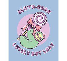 Sloth-chan Photographic Print