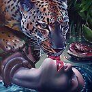 El leopardo bajo la cascada de marfil by Italia Ruotolo