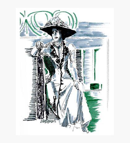 Lady Grantham Photographic Print
