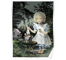 Alice Tea Time Poster