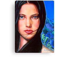 Diosa del mar Canvas Print