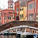 Canal scene by eddiechui
