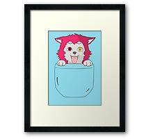 Seijuro Akashi Puppy Framed Print