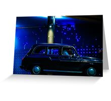 Taxi Greeting Card