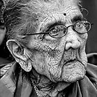 Ninety Six Year Old Indian Woman, NYC by Robert Ullmann