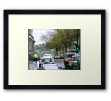 Rainsoaked Framed Print