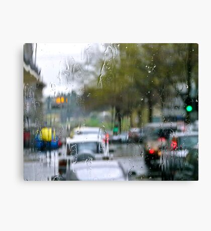 Rainsoaked Canvas Print