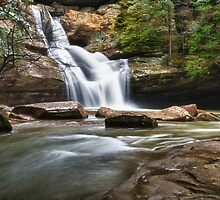 Cedar Falls in March by jimcrotty