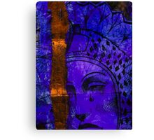 Blue-Mary Canvas Print