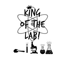 King of the Lab! 2 Photographic Print