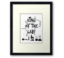 King of the Lab! 3  Framed Print