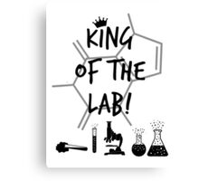 King of the Lab! 3  Canvas Print