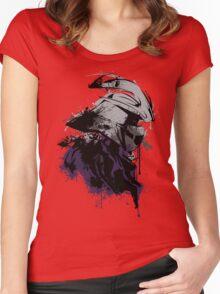 Shredded Women's Fitted Scoop T-Shirt