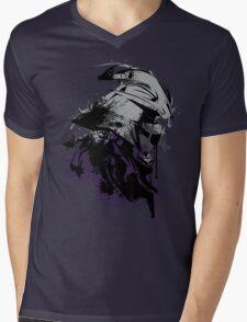 Shredded Mens V-Neck T-Shirt
