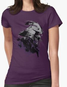 Shredded Womens Fitted T-Shirt