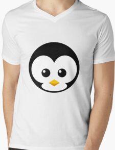 Penni Penguin Mens V-Neck T-Shirt