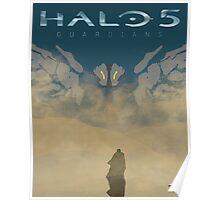 HALO 5 GUARIDANS Poster