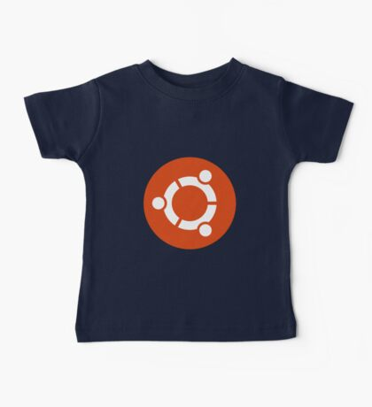 Ubuntu 1-Colour Logo Baby Tee