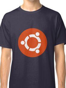 Ubuntu 1-Colour Logo Classic T-Shirt
