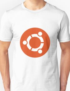 Ubuntu 1-Colour Logo Unisex T-Shirt