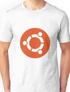 Ubuntu 1-Colour Logo Unisex T-Shirt