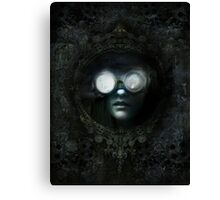 Lost Steampunk Mirror Canvas Print