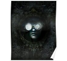 Lost Steampunk Mirror Poster