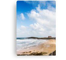 Fistral Beach,North Cornwall Metal Print