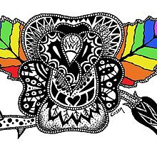 Rainbow Rose by Casey Virata