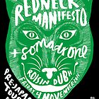 The Redneck Manifesto Pre Japanese Tour Party Galway 2011 by M&E  Design