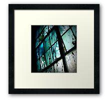 I Dream in Azure Framed Print