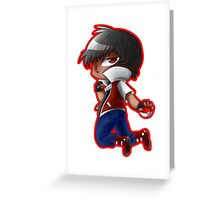 Champion Red Greeting Card