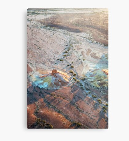 Early Morning Light: Painted Hills Metal Print