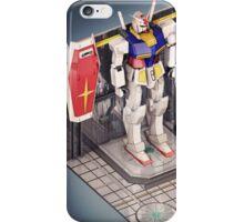 GUNDAM Isometric iPhone Case/Skin
