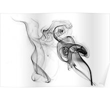 Dancing smoke lady Poster