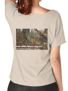 Take Roots Where You Can Women's Relaxed Fit T-Shirt