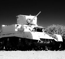 Old Tank by Riaan Roux