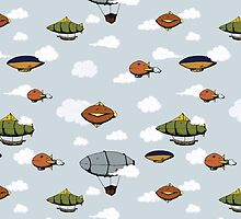Blimps, Zeppelins, and Dirigibles by SVaeth
