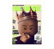 LEGO Source - King Kendrick Art Print