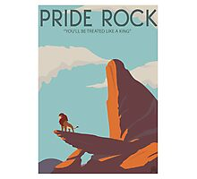 Pride Rock Poster Photographic Print