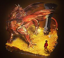 Lord of the Rings - The Hobbit - Smaug by Neil Stratford