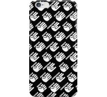 Rock, Paper, Shocker Wallpaper iPhone Case/Skin