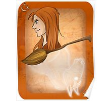 Ginny Weasley Playing Card Poster