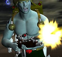Rogue Trooper The Future of War. by kerchow