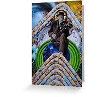 El Señor del Tiempo/ Time Lord Greeting Card