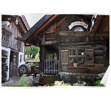 Stonemaker Cottage in Bavaria Poster